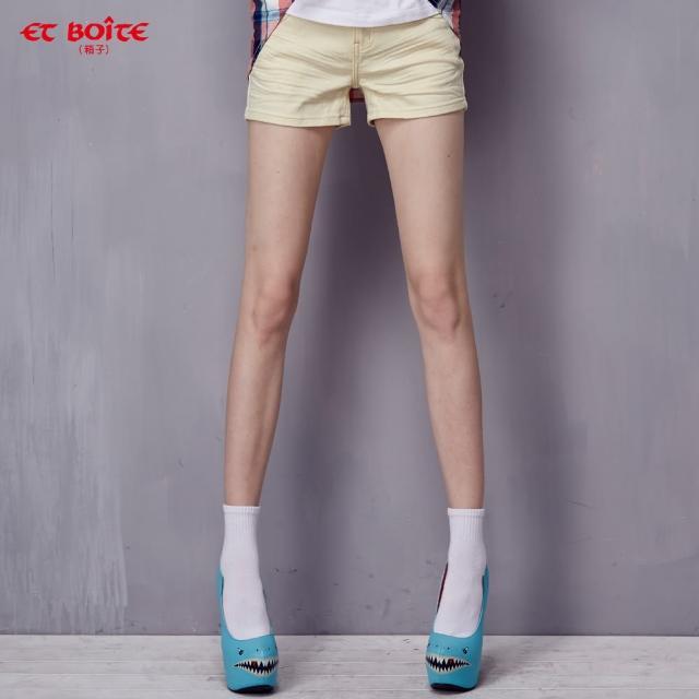 如何購買【ET BOiTE 箱子】AMOUR雙色短褲