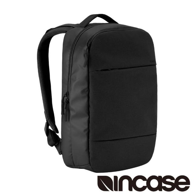 【INCASE】City Compact Backpack 15吋 城市輕巧筆電後背包(黑)