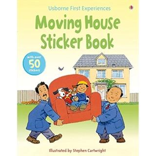 【Song Baby】Moving House Sticker Book:搬家囉!(故事貼紙書系列)