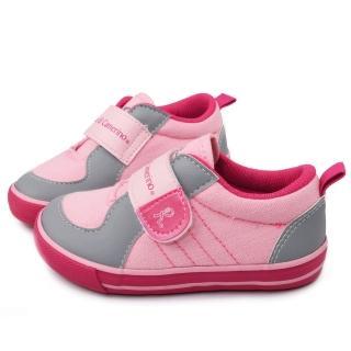 【童鞋城堡】Roberta 小童清新簡約風帆布鞋(613765-粉)