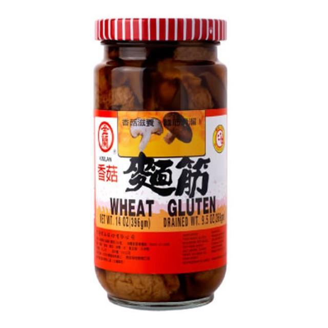 【金蘭】香菇麵筋 396g