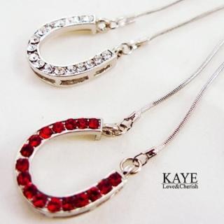 【Kaye歐美流行飾品】幸運馬蹄鐵造型項鍊