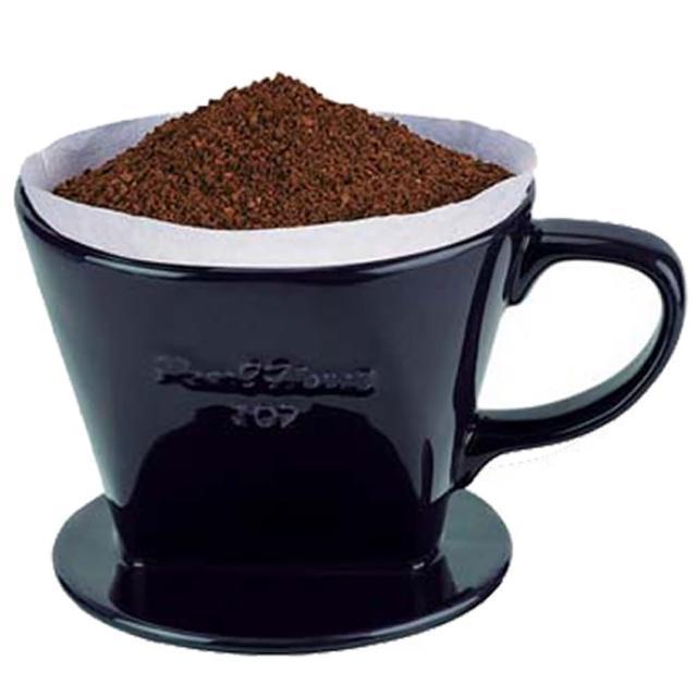 【日本寶馬牌】陶瓷咖啡濾器2-4人×2入