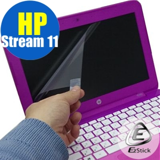 【EZstick】HP Stream 11 -d019TU 專用 靜電式液晶螢幕貼(可選鏡面或霧面)