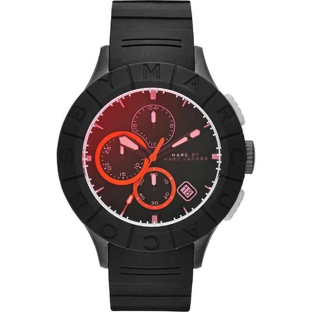 【Marc Jacobs】Buzz 極限運動計時腕錶-黑(MBM5546)