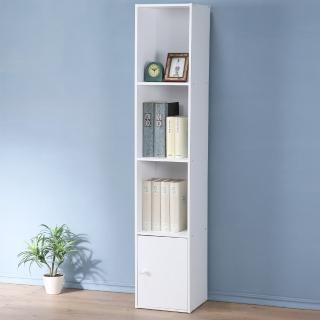 【Homelike】現代風四格單門置物櫃(三色)