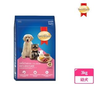 【SMARTHEART】慧心犬糧-牛肉+牛奶幼犬配方(3KG)