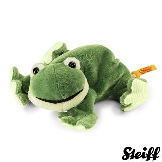 【STEIFF德國金耳釦泰迪熊】Little Floppy Cappy Frog 青蛙(寵物樂園)