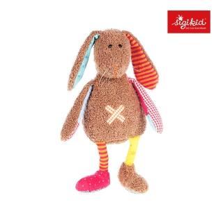 【德國Sigikid】毛絨玩偶-甜心小兔兔(垂耳)(安撫益智)