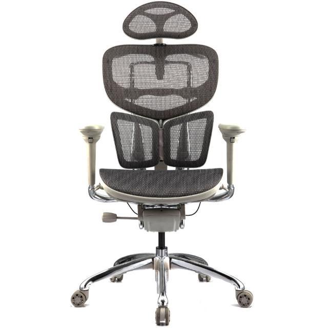 【aaronation愛倫國度】BUTTERFLY系列-人體工學椅/辦公椅(JQ-SL-A7-灰)
