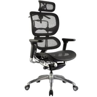 【aaronation愛倫國度】雙層式椅背人體工學椅/電腦椅(JQ-SL-A3-黑)