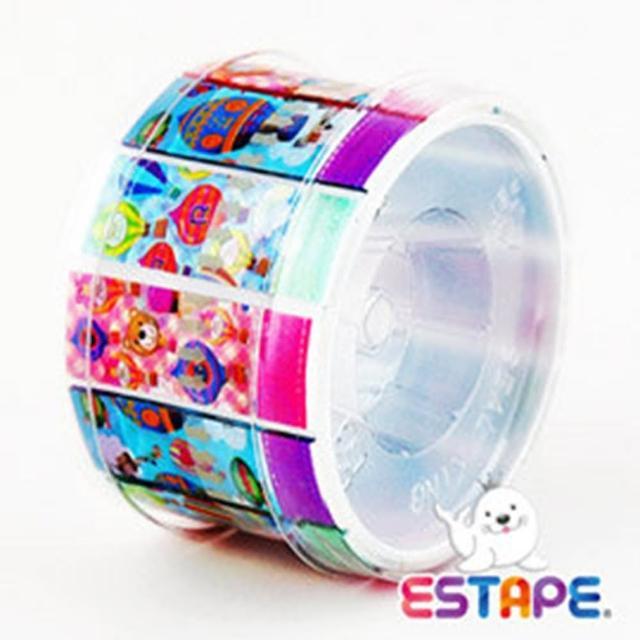 【ESTAPE】易撕貼-OPP抽取式膠帶(熱氣球組合)