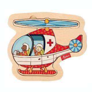 【德國Sigikid】拼圖遊戲-直升機(親子益智)