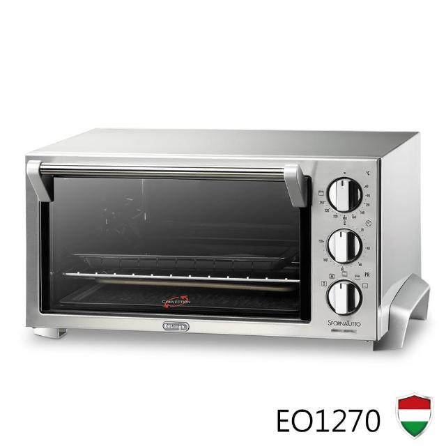 義大利 DeLonghi迪朗奇 12公升旋風式烤箱(EO1270)
