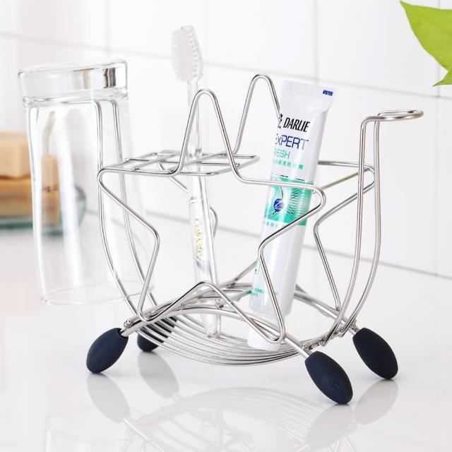 【樂活主義】獨家設計不鏽鋼星型牙刷杯架(-搶購)