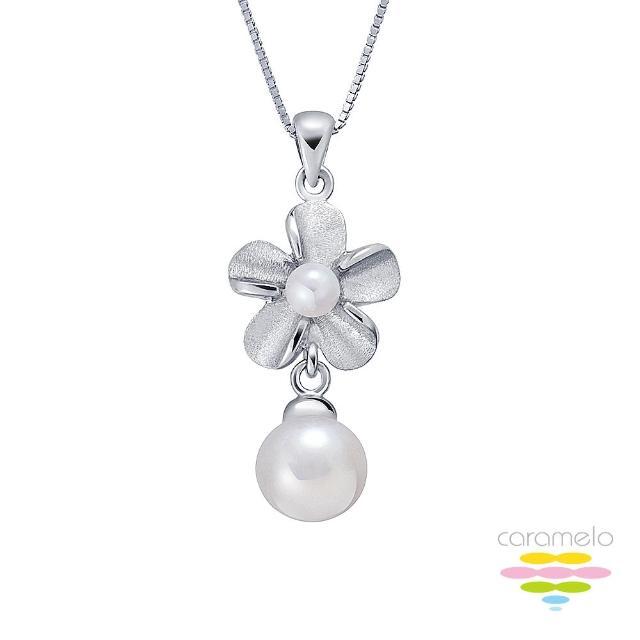 【彩糖鑽工坊】簡愛系列 4-7mm 淡水珍珠項鍊(CL-PP09)