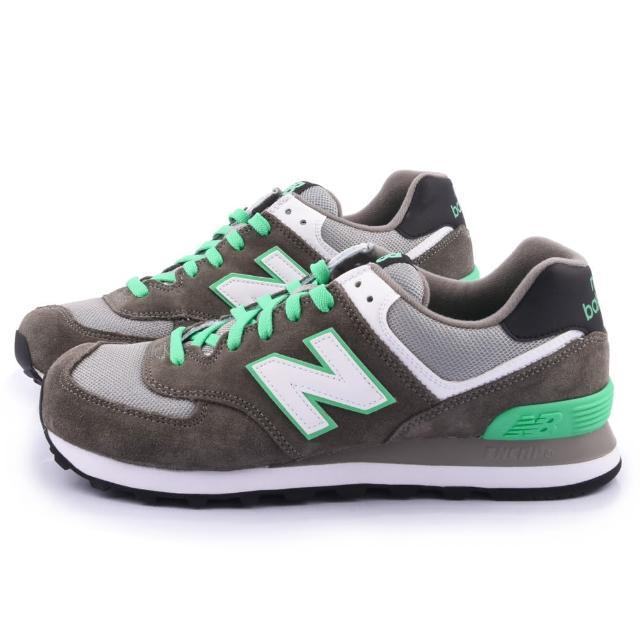 【NewBalance】經典574寬楦運動鞋(ML574CPF-2E-灰)
