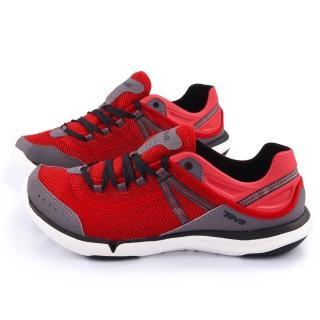 【TEVA】男款 EVO 輕量水陸越野鞋(TV1006249RED-紅)