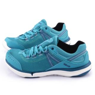 【TEVA】女款 EVO 輕量水陸越野鞋(TV1006260LAK-湖藍)