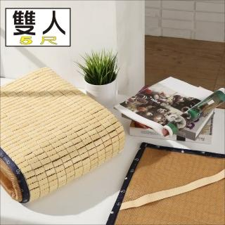 【BuyJM】日式專利3D立體透氣網雙人5尺麻將涼蓆-附鬆緊帶