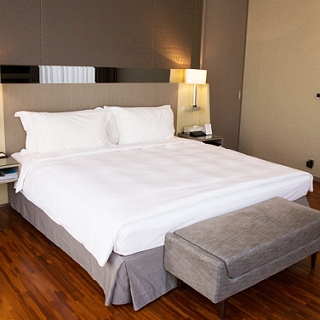 【法式寢飾花季】優雅生活-五星級飯店御用平紋被套x2件組(雙人6x7尺)