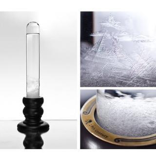 【賽先生科學】Storm glass 復古圓柱風暴球