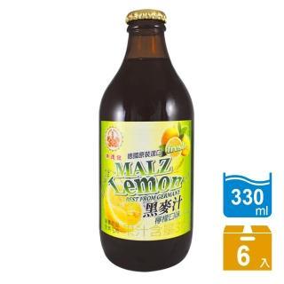 【崇德發】檸檬黑麥汁(330mlx6入)
