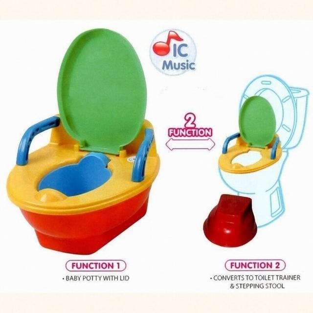 【EASY BABY】幼兒多功能音樂學習便器/音樂兒童馬桶(台灣製造 專利設計)