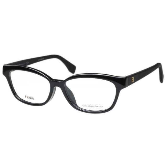 【FENDI】-造型光學眼鏡FF0046F(黑色)