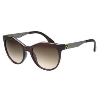 【FENDI】-時尚太陽眼鏡FF0049S(咖啡色)