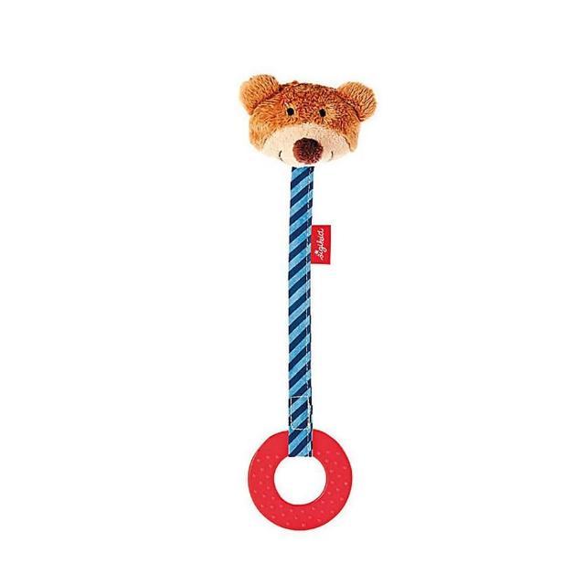 【德國Sigikid】固齒器玩具-小熊(安撫玩偶)