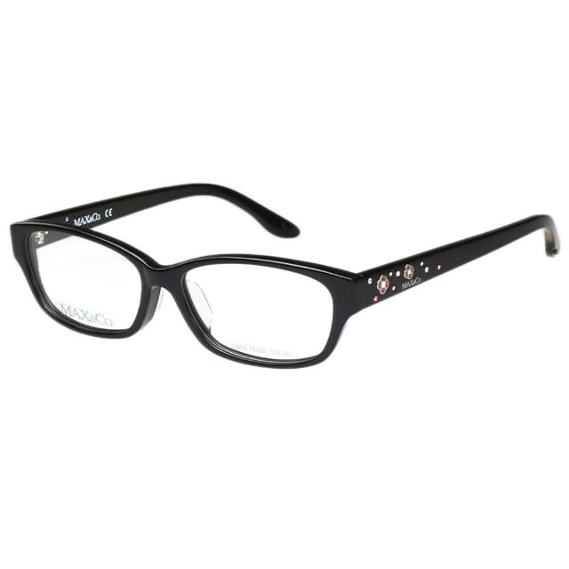 【MAX&CO.】-時尚光學眼鏡MAC4046J(黑色)