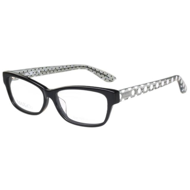 【MAX&CO.】-時尚光學眼鏡MAC4055F(黑色)