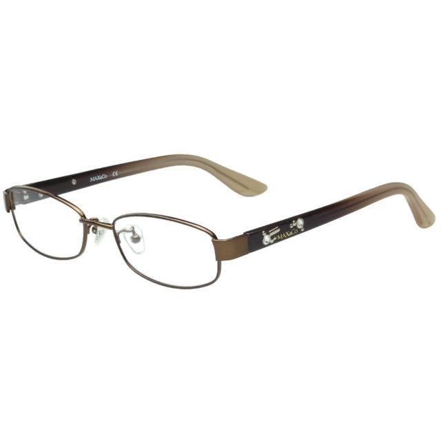 【MAX&CO.】-時尚光學眼鏡(咖啡色)
