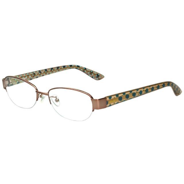 【MAX&CO.】-時尚光學眼鏡MAC4565F(咖啡色)