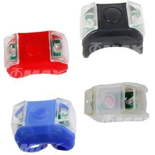 【omax】雙眼矽膠多功能警示燈(2入)