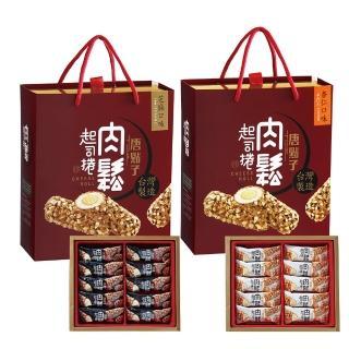 【新東陽】肉鬆起司捲禮盒-芝麻(300g)