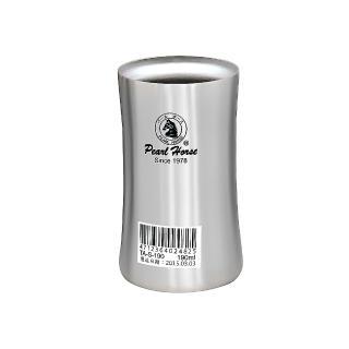 【寶馬牌】190ml不鏽鋼真空保溫健康杯(TA-S-190)