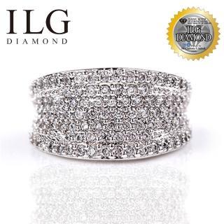 【美國ILG鑽飾】八心八箭戒指-雜誌設計款 RI072 手工微鑲 個性時尚名媛(戒指)