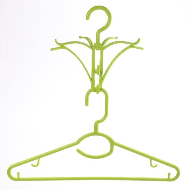【HIKARI日光生活】帽衫晾晒架組合/帽衣架(顏色隨機)