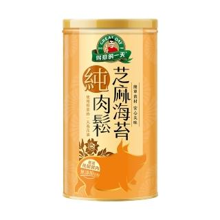 【得意的一天】芝麻海苔肉酥200g/罐