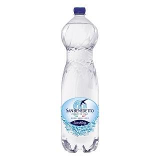 【San Benedetto】聖碧濤天然氣泡礦泉水1.5公升(12入/箱)