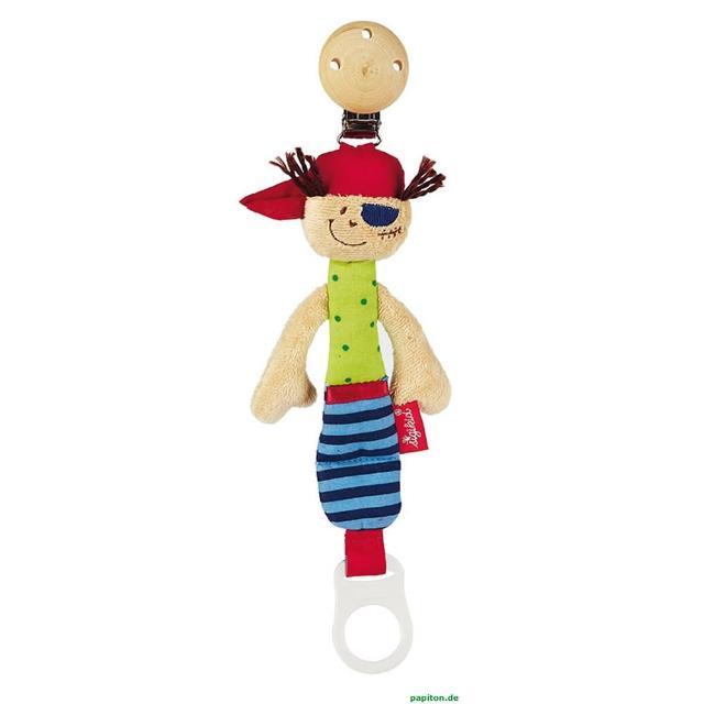 【德國Sigikid】奶嘴鏈-小海盜(嬰幼兒用品)