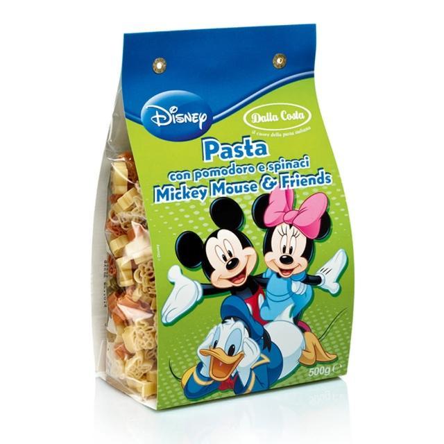 【Dalla】達樂迪士尼樂園米老鼠義大利麵500g(歐洲第一造型義大利麵)