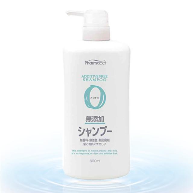 【熊野】Pharmaact 無添加洗髮精-600ml