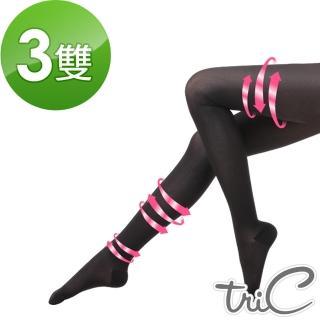 【Tric】台灣製 200Den包趾壓力褲襪 買2贈1組(壓力襪/顯瘦腿襪/健康襪/彈力襪/絲襪褲襪)