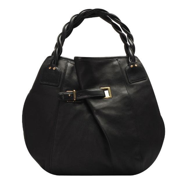 【CHLOE】Amy系列小羊皮麻花提把手提/肩背包(黑X黑3S1081-259-001-BLK)比價