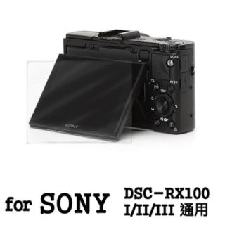 【D&A】Sony DSC-RX100 I/II/III 日本原膜AS螢幕保護貼(AS高密疏油疏水型)
