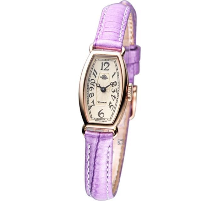 【Rosemont】玫瑰皇后時尚錶(TRS-18-05-VI 紫色)