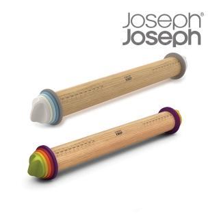 【Joseph Joseph 英國創意設計餐廚】厚度可調桿麵棍-彩色(20085)